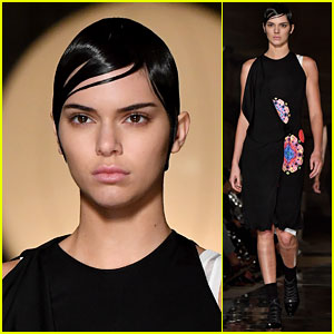 Kendall Jenner Struts on Givenchy Runway in Paris