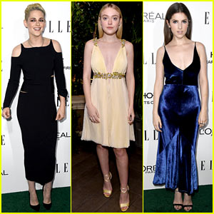 Kristen Stewart Hangs Out With 'Twilight' Co-Stars at 'Elle' Women In Hollywood Awards