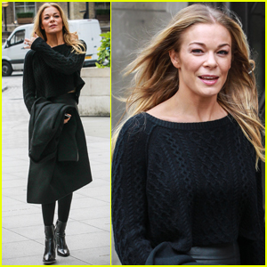 LeAnn Rimes Steps Out in London After 'Strictly Come Dancing' Performance