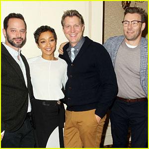 'Loving' Stars Ruth Negga & Joel Edgerton Celebrate Awards Buzz at NYC Luncheon