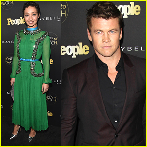 Luke Hemsworth & Loving's Ruth Negga Lead Stars To People's Ones To Watch Party