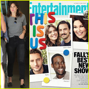 Mandy Moore & 'This Is Us' Cast Cover 'Entertainment Weekly'