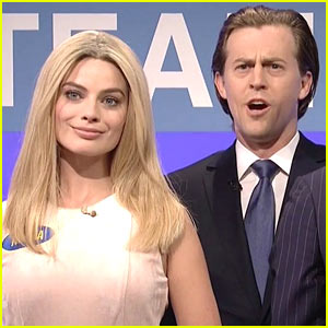 Margot Robbie Mocks Ivanka Trump on 'SNL' - Watch!