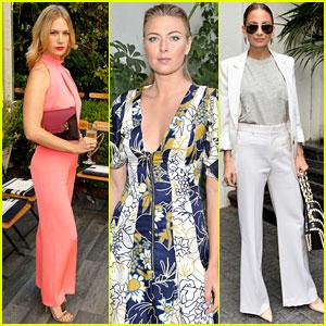Maria Sharapova Goes High Fashion for CFDA/Vogue Fashion Fund Show!