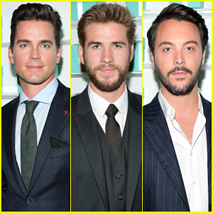 Matt Bomer & Liam Hemsworth Make It A Stud Fest At Tiffany & Co. Unveiling Celebration!