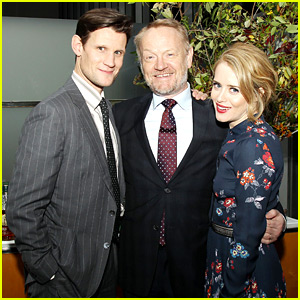 Matt Smith & Claire Foy Celebrate Netflix's 'The Crown' in NYC