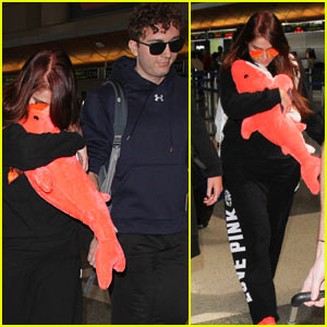 Meghan Trainor Catches a Flight with Rumored Boyfriend Daryl Sabara