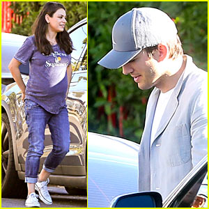 Mila Kunis & Ashton Kutcher's Daughter Wyatt is Trilingual (& Loves a Curse Word)!