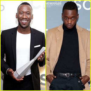 Mahershala Ali & Ashton Sanders Look Sharp at Savannah Film Festival