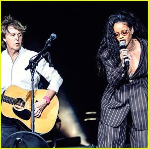 Rihanna Makes Surprise Performance at Desert Bay Festival with Paul McCartney!