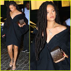 Rihanna Steps Out With Niece Majesty in NYC