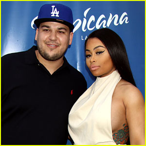 Rob Kardashian Posts Motivational Weight Loss Message with Blac Chyna
