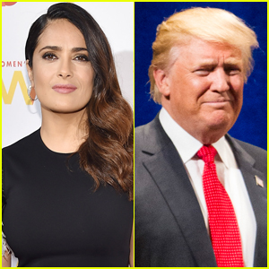 Salma Hayek Says Donald Trump Leaked a Fake Story About Her After She Turned Him Down