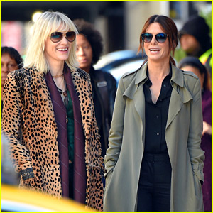 Sandra Bullock & Cate Blanchett Get to Work on 'Ocean's Eight'