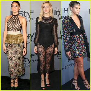 Shailene Woodley Joins Nicola Peltz & Sofia Richie at InStyle Awards