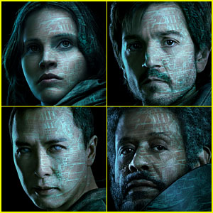 'Rogue One: A Star Wars Story' Character Posters Debut!