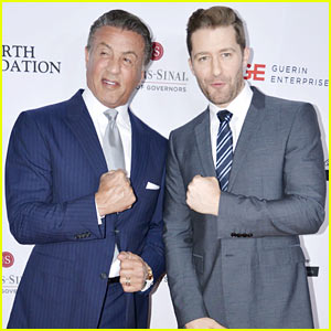 Sylvester Stallone & Matthew Morrison Suit Up for Cedars-Sinai Board of Governors Gala