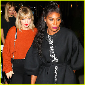 Taylor Swift Goes to a Concert with Serena Williams, Karlie Kloss, & More Squad Members!