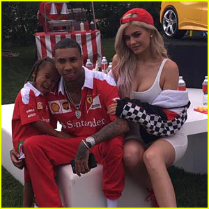 Tyga & Kylie Jenner Throw King Cairo Ferrari Themed Birthday Party Day After Blac Chyna Has Party