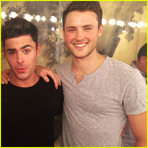 Zac Efron Congratulates Brother Dylan on Qualifying For Boston Marathon!