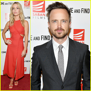 Aaron Paul & Annabelle Wallis Buddy Up For 'Come And Find Me' Premiere - Watch Trailer!