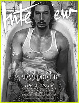 Adam Driver Puts Muscles on Display for 'Interview' Spread