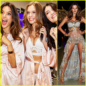 Alessandra Ambrosio & Victoria's Secret Models Make Chinese Debut