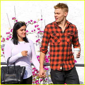 Ariel Winter & New Boyfriend Levi Meaden Confirm New Relationship; Hold Hands During Coffee Run