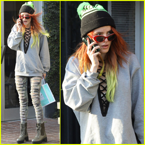 Bella Thorne Is Most Thankful For Her Fans!