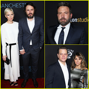 Ben Affleck Supports Brother Casey & Bestie Matt Damon At 'Manchester By The Sea' Premiere!