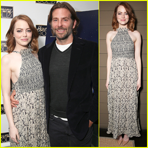 Bradley Cooper Hosts Special Screening For Emma Stone's 'La La Land'!