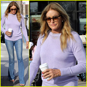 Caitlyn Jenner Stocks Up on Groceries for the Week