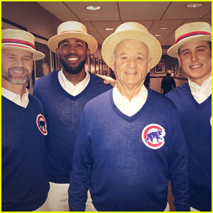 Bill Murray & The Chicago Cubs Make Surprise Appearance on 'SNL'!