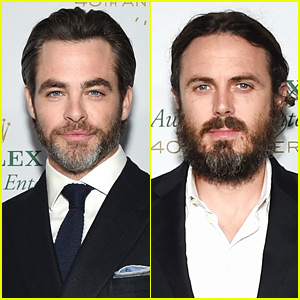 Chris Pine & Casey Affleck Are Dapper Dudes at Rolex Awards!