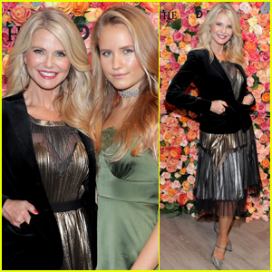 Christie Brinkley Brings Daughter Sailor to Charity Shopping Event