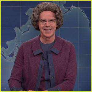 Dana Carvey Reprises Role as 'The Church Lady' on SNL's Weekend Update - Watch Now!