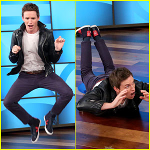 Eddie Redmayne Does His Best Animal Impressions on 'Ellen' - Watch Now!