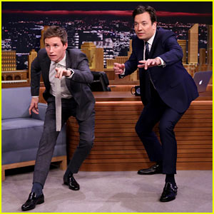 VIDEO: Eddie Redmayne Teaches Jimmy Fallon 'Fantastic Beasts' Mating Dance