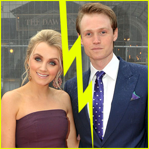 'Harry Potter' Stars Evanna Lynch & Robbie Jarvis Split