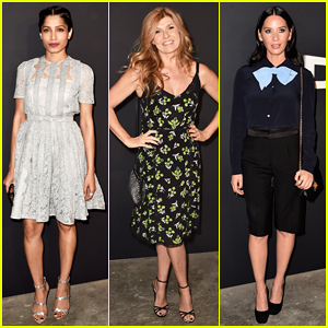 Freida Pinto, Connie Britton & Olivia Munn Put On Their Best For Star-Studded 'Past Forward' Premiere!