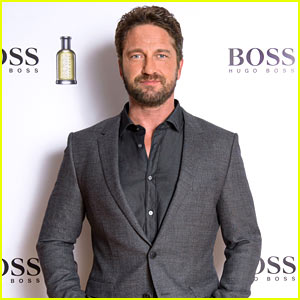 Gerard Butler Steps Out as Brand Ambassador for 'Hugo Boss'