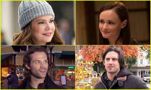 'Gilmore Girls' Stars Reveal If They're Team Jess, Dean, or Logan!