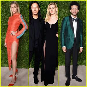 Hailey Baldwin & Nicola Peltz Get Glam at CFDA/Vogue Fashion Fund Awards 2016