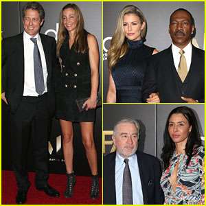 Hugh Grant, Eddie Murphy, & Robert de Niro Honored at Hollywood Film Awards 2016!
