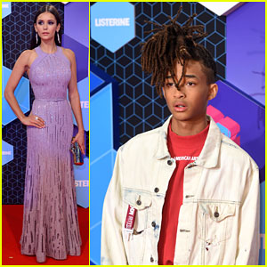 Jaden Smith & Nina Dobrev Arrive for MTV EMAs 2016