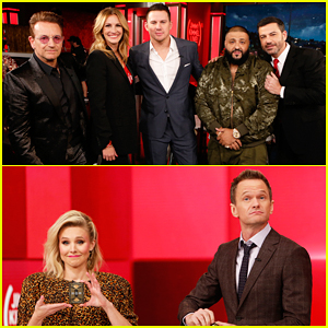 VIDEOS: Julia Roberts, Kristen Bell, Channing Tatum & More Join Jimmy Kimmel For a Special Star-Studded (RED) Episode!