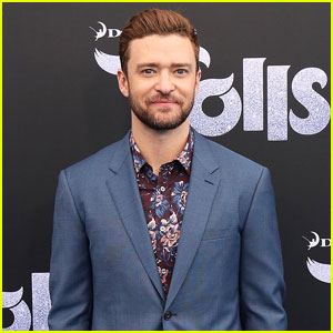 Justin Timberlake Suits Up for 'Trolls' Premiere in ...