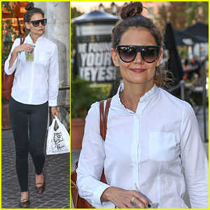 Katie Holmes Starts the Weekend With an Inspiring Quote