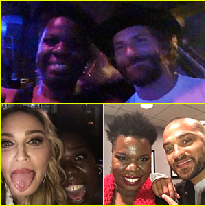 Leslie Jones Partied with So Many Celebs at 'SNL' After Party!