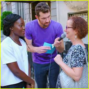 VIDEO: Lupita Nyong'o Tests Out Her Stand Up Comedy on New Yorkers for 'Billy on the Street'